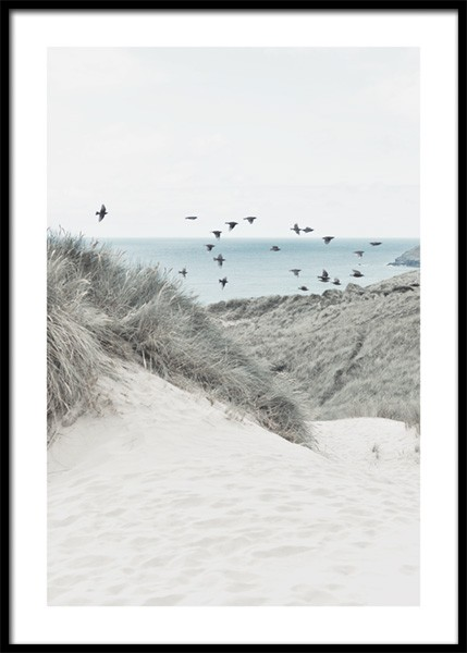 Beach Dune Poster in the group Prints / Nature prints / Beaches at Desenio AB (14832)