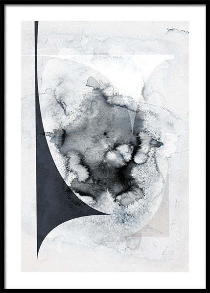 Ink Splash Abstract No2 Poster in the group Prints / Art prints / Abstract art prints at Desenio AB (14920)