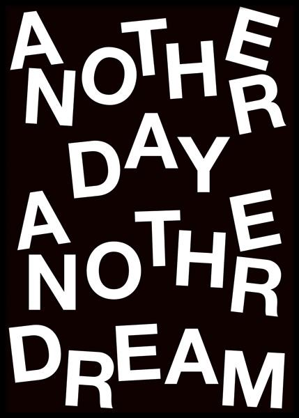 Another Day Poster in the group Prints / Text posters at Desenio AB (14996)