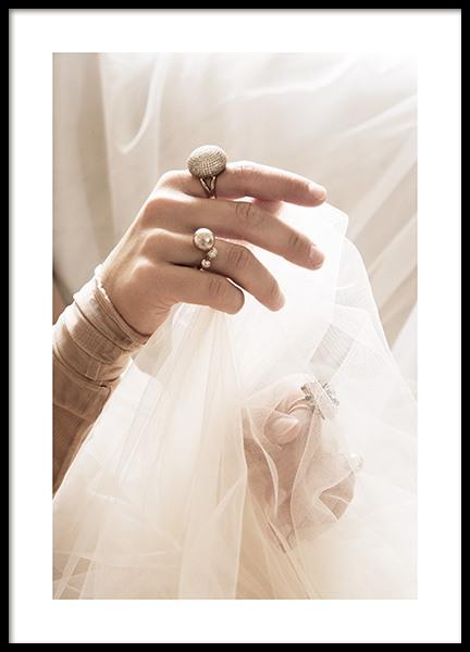 Delightful Hands Poster
