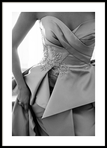 Haute Couture Dress Poster