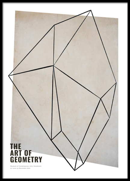 The Art of Geometry No2 Poster