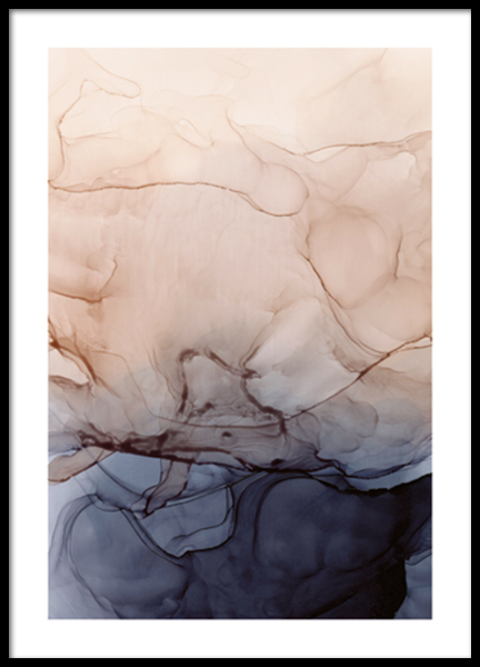Liquid Formations No2 Poster