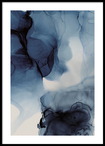 Liquid Formations No3 Poster