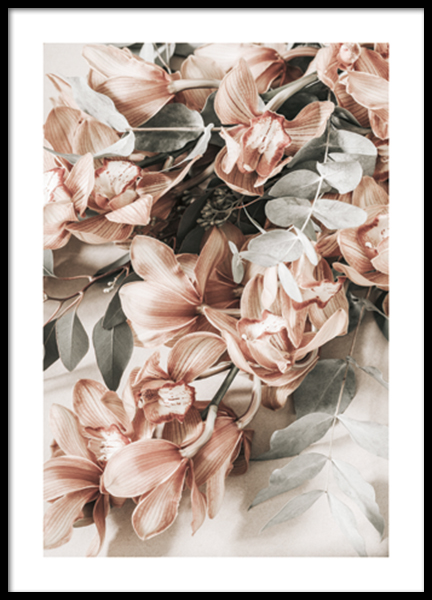 Autumn Floral No1 Poster