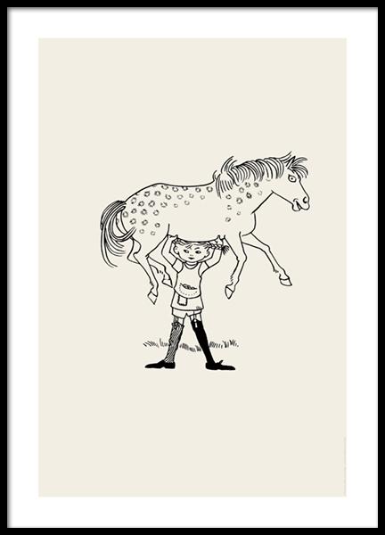 Pippi Longstocking No1 Poster