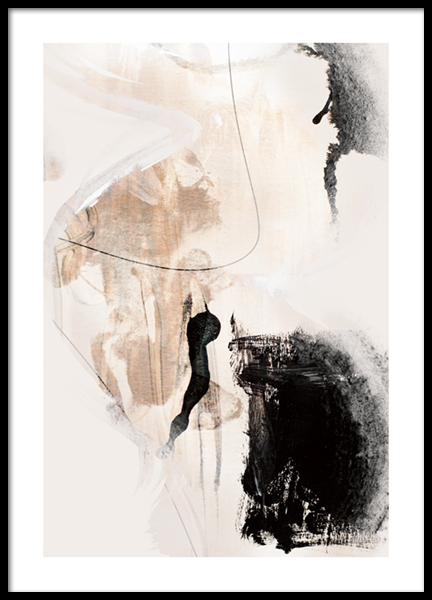 Abstract Terrain No1 Poster
