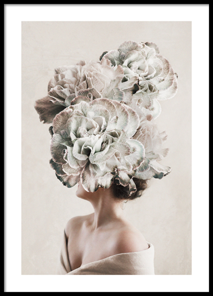 Flower Lady No3 Poster