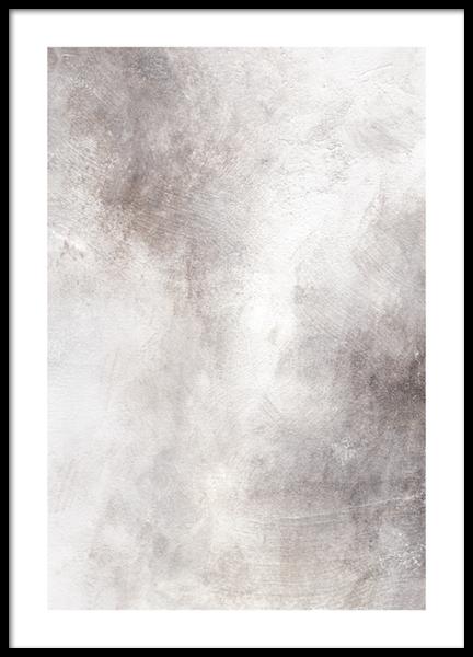 Soft Tones Abstract No2 Poster