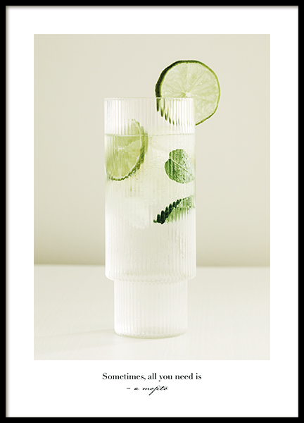 All You Need is a Mojito Poster
