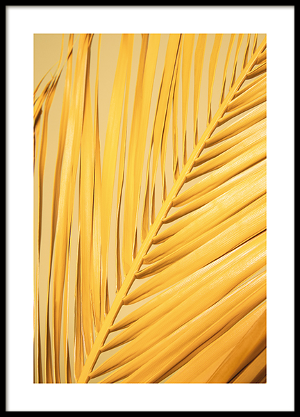 Yellow Palm  Poster