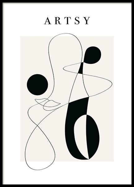 Artsy  Poster