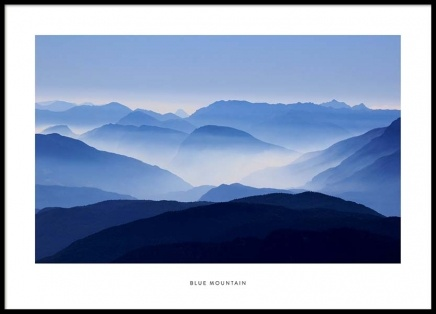 Blue Mountain Poster in the group Prints / Photographs at Desenio AB (2026)