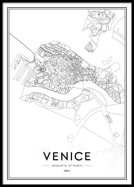 Venice Poster in the group Prints / Sizes / 50x70cm | 20x28 at Desenio AB (2049)