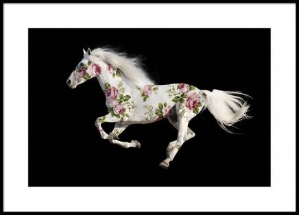 Pegasus Rose garden Poster in the group Prints / Sizes / 50x70cm | 20x28 at Desenio AB (2195)