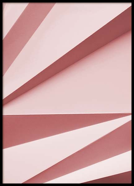 Paper pink No2  Poster in the group Prints / Sizes / 50x70cm | 20x28 at Desenio AB (2224)