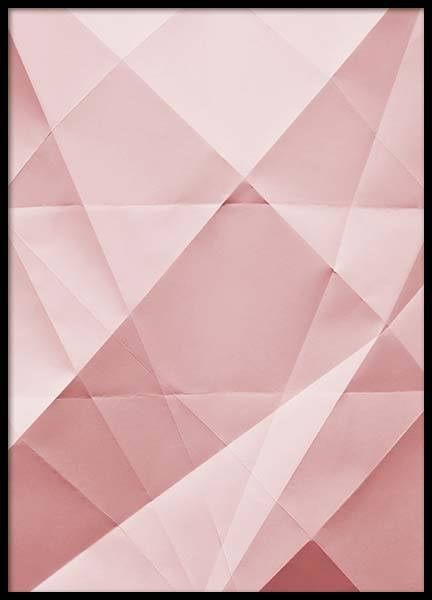 Paper Pink No3  Poster in the group Prints / Graphical at Desenio AB (2225)