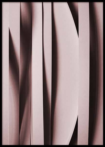 Pink Stripes  Poster in the group Prints / Graphical at Desenio AB (2245)
