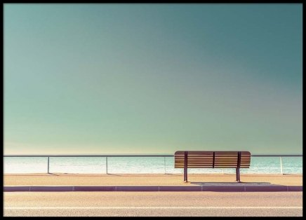 The Bench Poster in the group Prints / Sizes / 50x70cm | 20x28 at Desenio AB (2329)