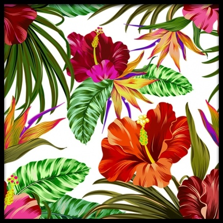 Hibiscus Poster in the group Prints / Floral at Desenio AB (2384)