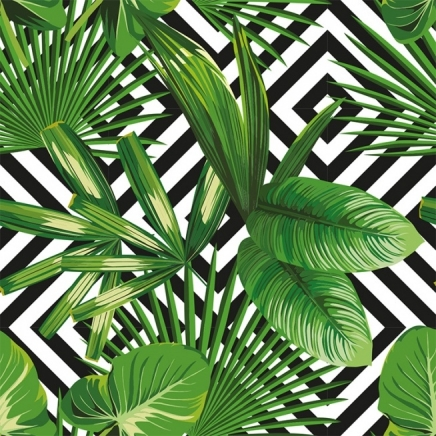 Tropical Bizazz Poster in the group Prints / Floral at Desenio AB (2385)