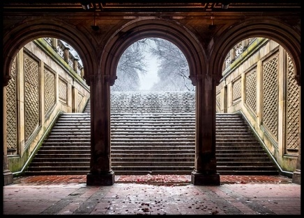 Bethesda Terrace Central Park Poster in the group Prints / Sizes / 50x70cm | 20x28 at Desenio AB (2411)
