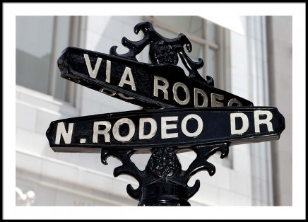 Rodeo Dr Poster in the group Prints / Sizes / 50x70cm | 20x28 at Desenio AB (2474)