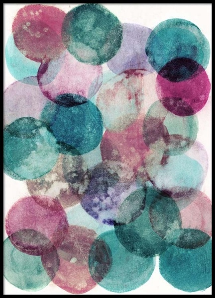 Aquarelle Dots Poster in the group Prints / Art prints at Desenio AB (2522)