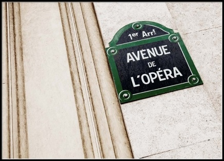 L'Opéra Poster in the group Prints / Photographs at Desenio AB (2540)