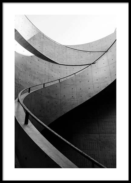 Staircase Poster in the group Prints / Photographs at Desenio AB (2549)