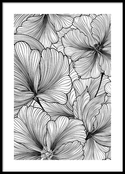 Floral Pattern Poster in the group Prints / Floral at Desenio AB (2575)