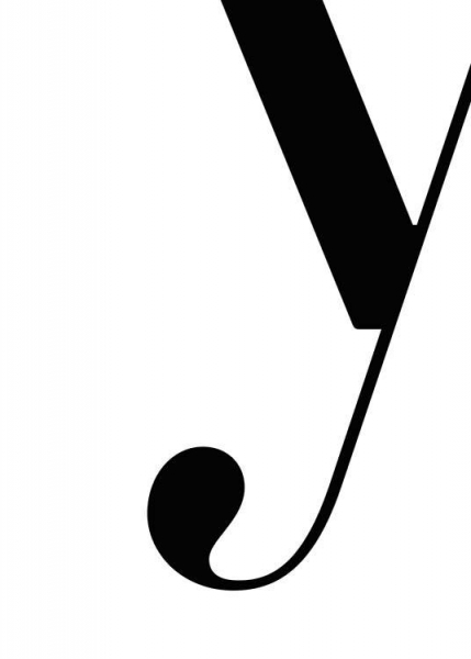 Letter Y Poster in the group Prints / Typography & quotes at Desenio AB (2638)