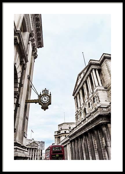 London street view Poster in the group Prints / Sizes / 50x70cm | 20x28 at Desenio AB (2751)