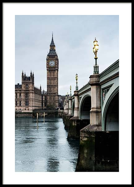 Westminster Bridge Poster in the group Prints / Photographs at Desenio AB (2752)