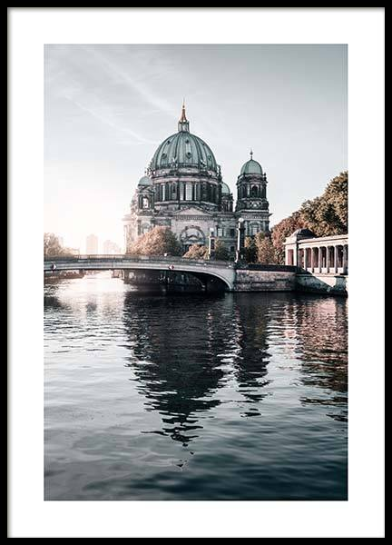 Berlin River Poster in the group Prints / Photographs at Desenio AB (2753)