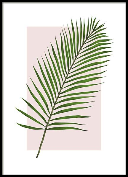 Jungle Leaf Poster in the group Prints / Floral at Desenio AB (2771)