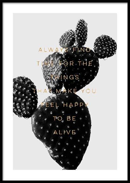 Always Find Time Poster in the group Prints / Sizes / 50x70cm | 20x28 at Desenio AB (2772)