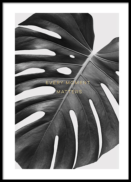 Every Moment Matters Poster in the group Prints / Floral at Desenio AB (2783)