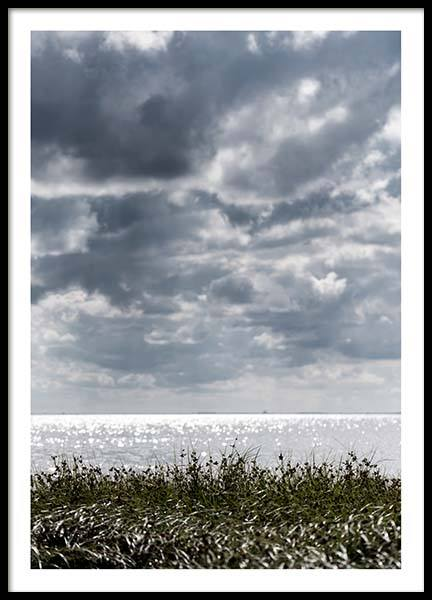 Grass By The Sea Poster in the group Prints / Nature at Desenio AB (2865)
