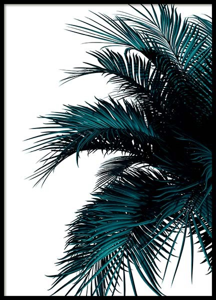 Green Palm Tree Poster in the group Prints / Botanical at Desenio AB (2907)