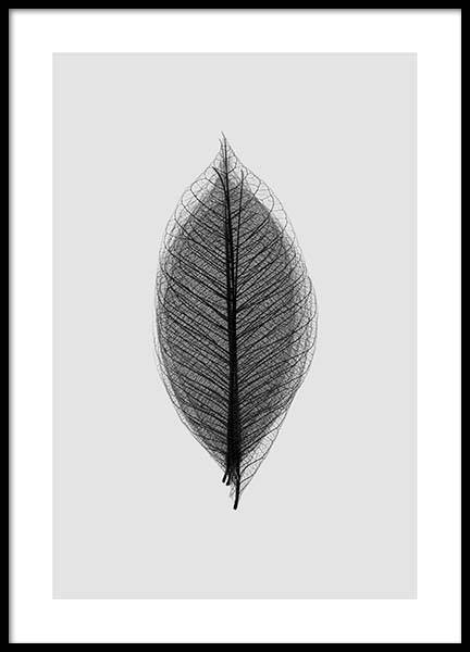Leaf Overlay Poster in the group Prints / Floral at Desenio AB (2928)