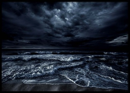 Stormy Ocean Poster in the group Prints / Nature prints at Desenio AB (2946)