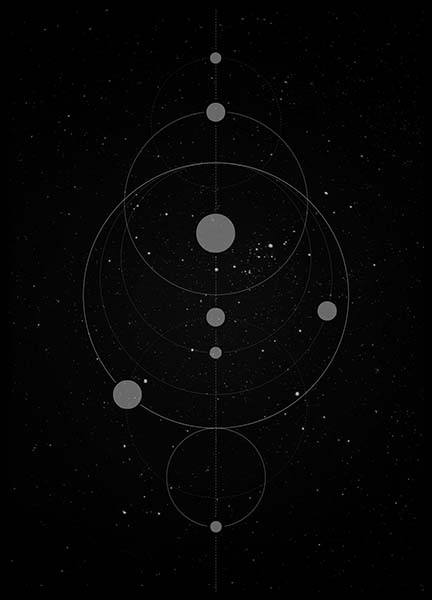 Universe Poster in the group Prints / Graphical at Desenio AB (3170)
