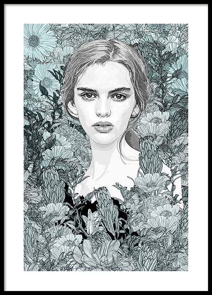 Celine Poster in the group Prints / Sizes / 50x70cm | 20x28 at Desenio AB (3226)