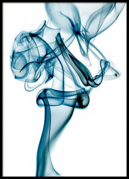 Blue Smoke Poster in the group Prints / Art prints at Desenio AB (3280)