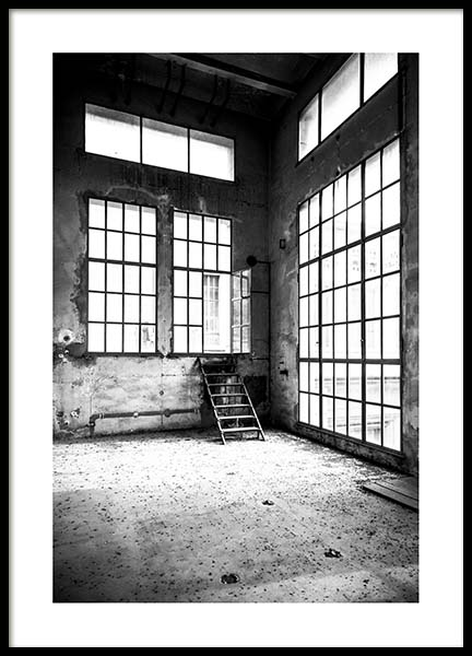 Abandoned Building Poster in the group Prints / Photographs at Desenio AB (3290)