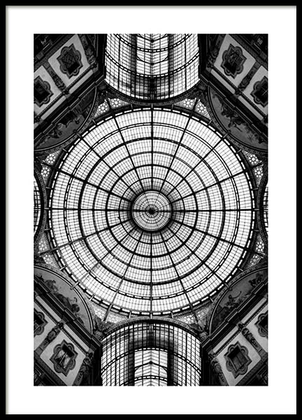 Glass Dome Poster in the group Prints / Black & white at Desenio AB (3291)