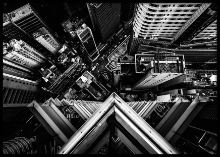 Hong Kong Roof View Poster in the group Prints / Photographs at Desenio AB (3294)
