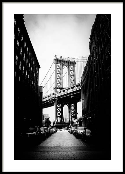 Streets of Brooklyn Poster in the group Prints / Sizes / 50x70cm | 20x28 at Desenio AB (3296)