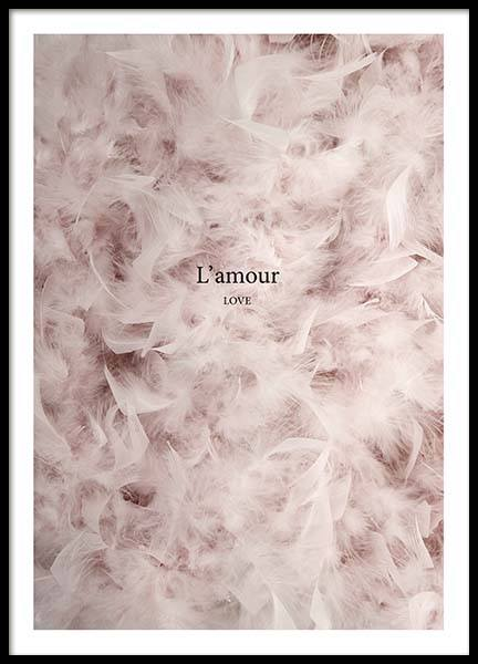 L'Amour Poster in the group Prints / Photographs at Desenio AB (3389)